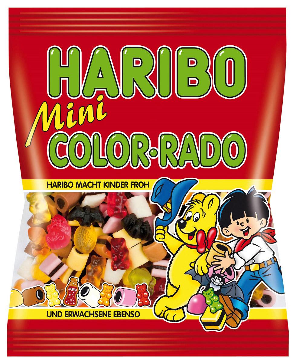 Haribo Мини Колор-Радо жевательный мармелад, 175 г бумба крутые виражи жевательный мармелад 105 г