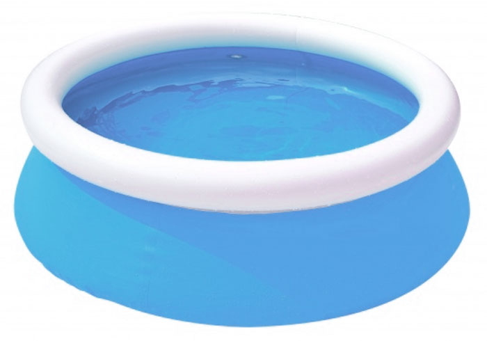 Jilong Бассейн надувной Kids Pool цвет голубой 122 х 35 смJL017230NPF_голубой