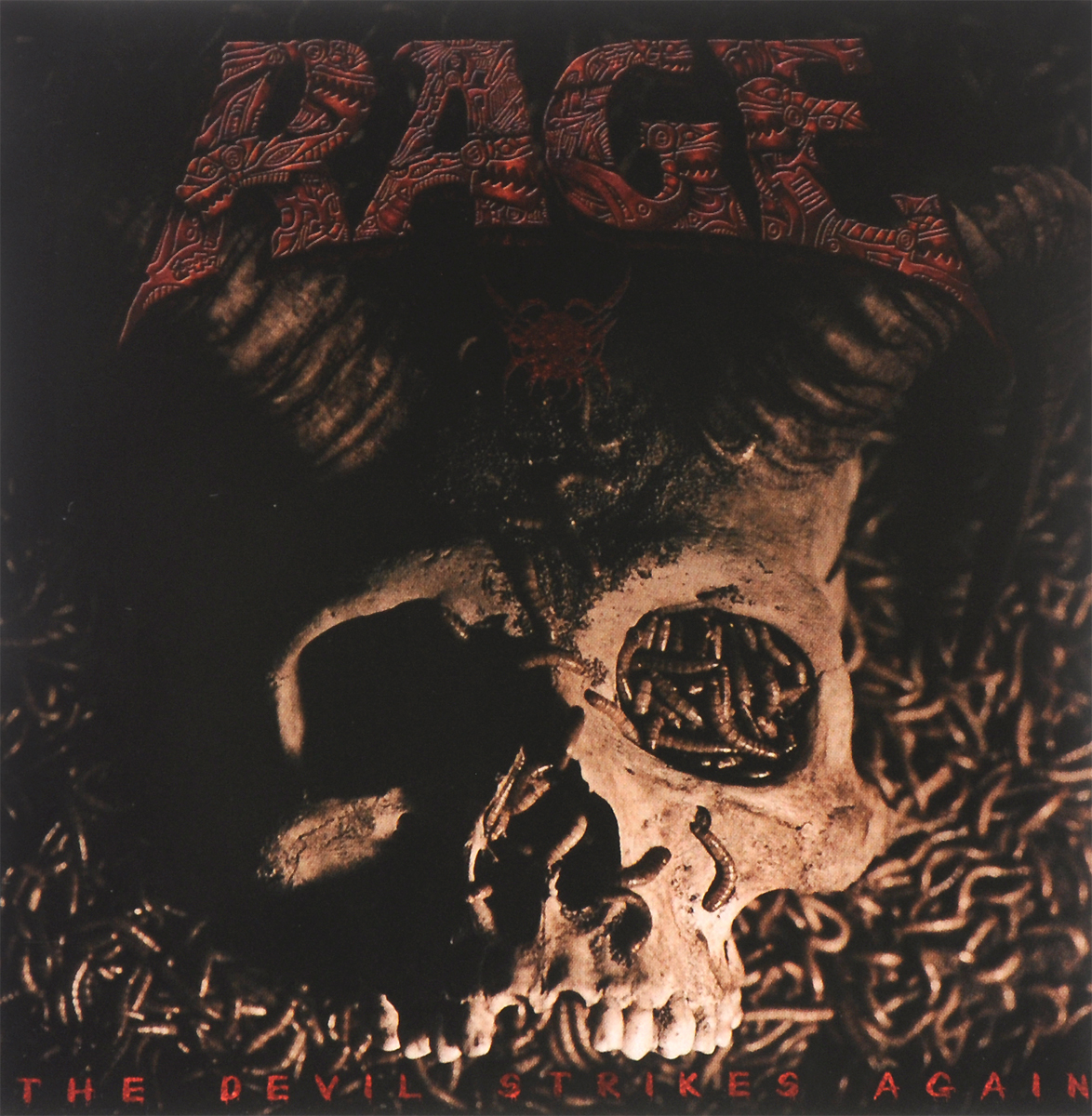 Rage Rage. The Devil Strikes Again rage rage the devil strikes again 2 lp colour