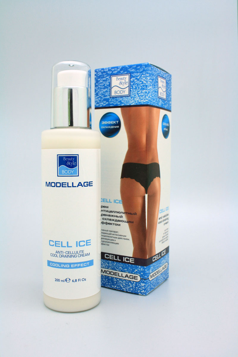 Beauty Style Антицеллюлитный крем  «CELL ICE» Modellage beauty style be934lwbmq87
