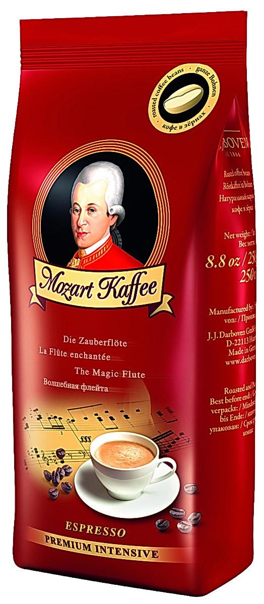 J.J. Darboven Mozart Kaffee Intensive кофе в зернах, 250 г4006581171821И шедевры классической музыки, и отличный кофе получают в результате многих трудов. Среди композиторов-классиков одно имя стоит особняком – это Вольфганг Амадей Моцарт, чья музыка, как ничья другая, дарит слушателям исключительное удовольствие. Кофе Моцарт дарит вам восхищение оттенками его вкуса и аромата.