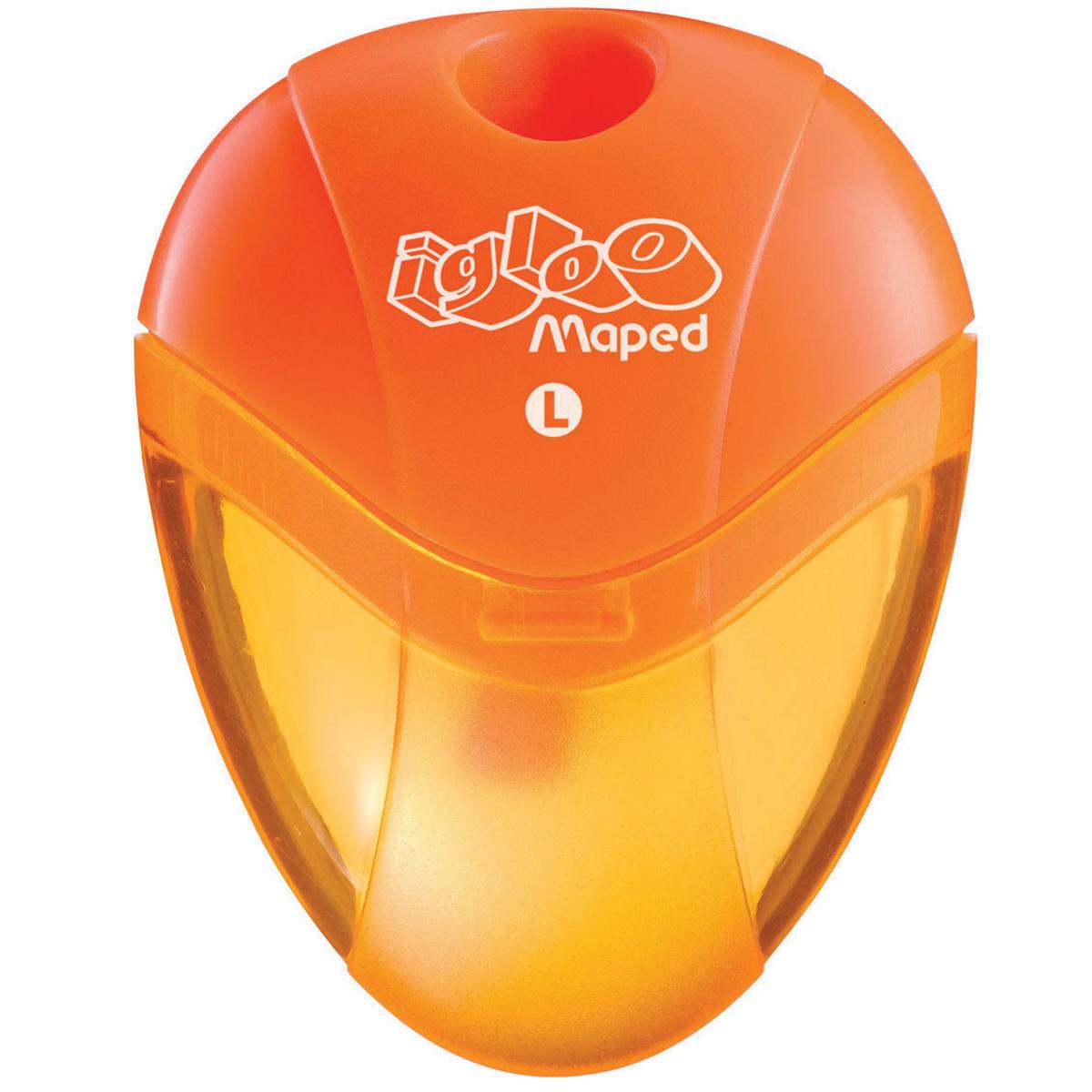 Maped Точилка Gloo с контейнером для левшей032210Точилка Maped Gloo выполнена из пластика. Точилка с контейнером предназначена для левшей.