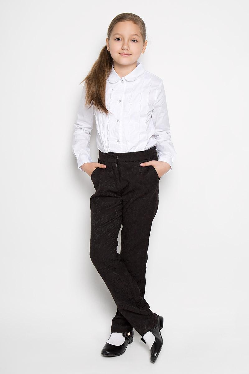 Брюки для девочки Nota Bene, цвет: черный. AW15GS139B-21. Размер 158 брюки для девочки btc цвет черный 12 017900 размер 40 158