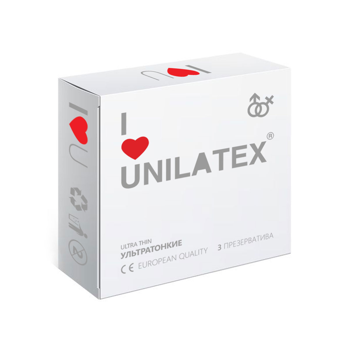 Презервативы Unilatex UltraThin, 3 шт fashion secret tania panties open белые юбки