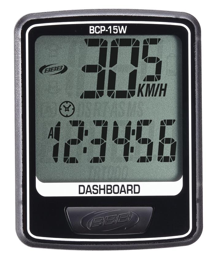 Велокомпьютер BBB DashBoard , цвет: черный, 10 функций. BCP-15W компьютер bbb dashboard 7 functions black