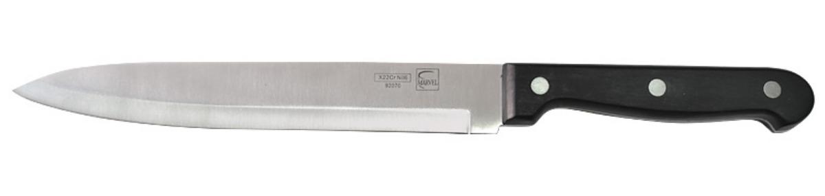 """Нож Marvel """"Classic"""" изготовлен из высококачественной стали. Рукоятка выполнена из полипропилена. Она не скользит в руке и делает резку удобной и безопасной. Этот нож идеально подходит для нарезки мяса. Он займет достойное место среди аксессуаров на вашей кухне."""