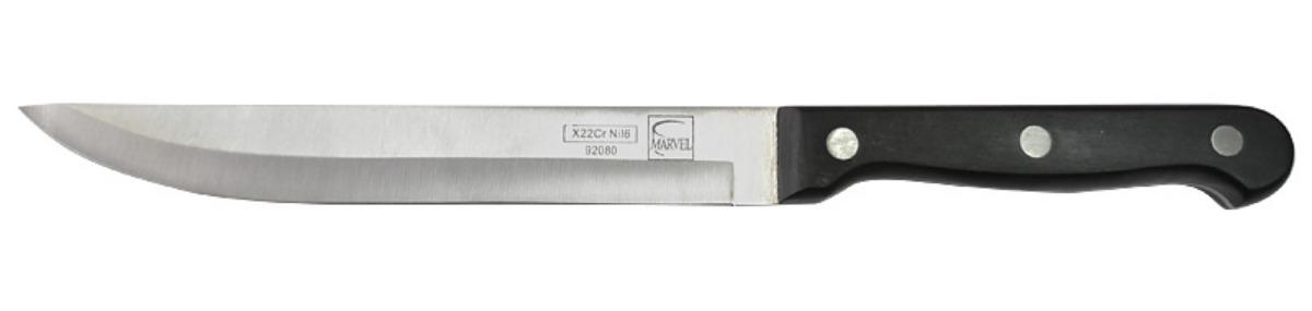 Нож кухонный Marvel Classic Series, цвет: серый, длина лезвия 15 см. 9208092080
