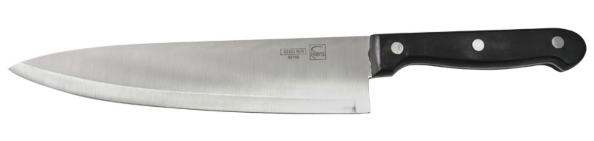 Нож столовый Marvel Classic Series, цвет: серый, длина лезвия 20 см. 92180 нож для нарезки мяса marvel santoku series цвет серый длина лезвия 20 5 см 87313