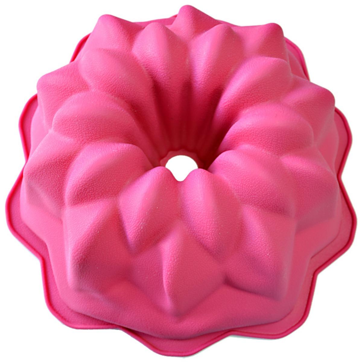 Форма для выпечки Marvel, цвет: розовый, диаметр 27 см4123Форма Marvel выполнена из высококачественного 100% пищевого силикона. Идеально подходит для приготовления выпечки, десертов и холодных закусок. Форма выдерживает температуру от -40 до +240°C, обладает естественными антипригарными свойствами. Не выделяет вредных веществ при высоких температурах.