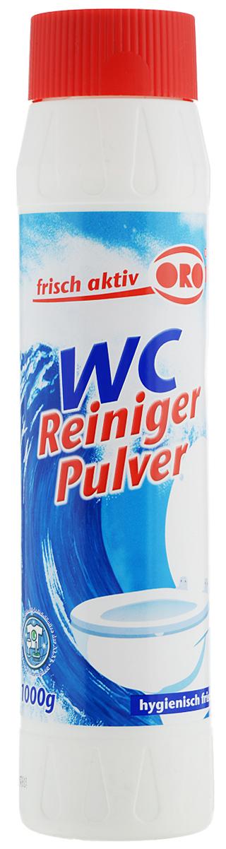 Порошок для чистки туалетов ORO-fresh, с ароматом лимона, 1 кг06013Порошок для чистки туалетов ORO-fresh -эффективное сильнодействующее средство длятщательного удаления стойких загрязнений свнутренних поверхностей унитазов и писсуаров.Порошок без особых усилий, превосходно и бережноочищает даже застарелые известковые и уриновыеотложения, грязь и жир. Не оставляет царапин иразводов после применения. Обладаетантибактериальным действием и приятным лимоннымароматом.Состав: 5% анионные ПАВ, гидросульфат натрия.Товар сертифицирован.