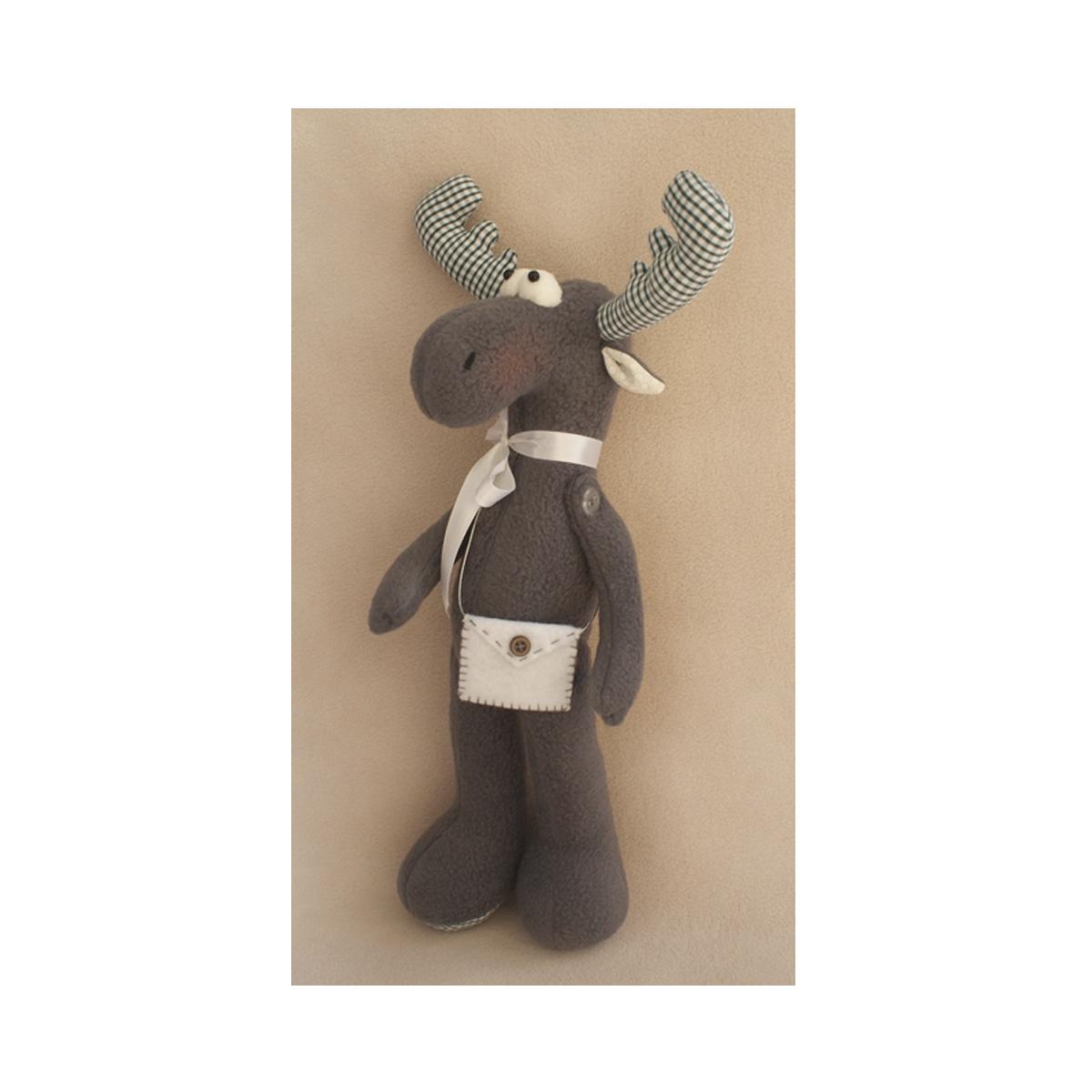 Набор для изготовления игрушки Ваниль Elk Story. Лось, 36 см. EL001