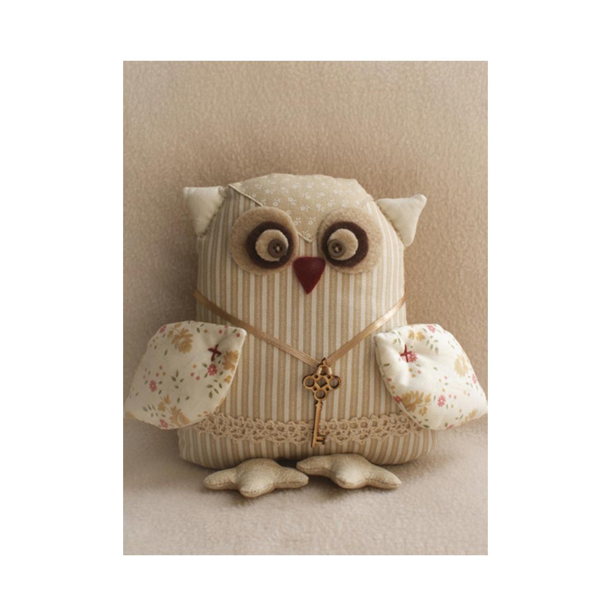 Набор для изготовления игрушки Ваниль Owl'S Story, 21 см. OW002 наборы для шитья ваниль набор для изготовления игрушки cat s story c005 котик с рыбкой 21 см