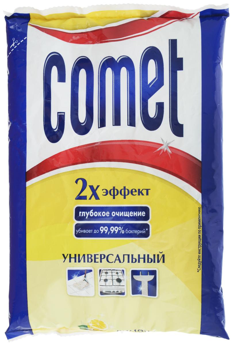 Порошок чистящий Comet Лимон с хлоринолом, универсальный, 400 г гель чистящий comet лимон 500 мл