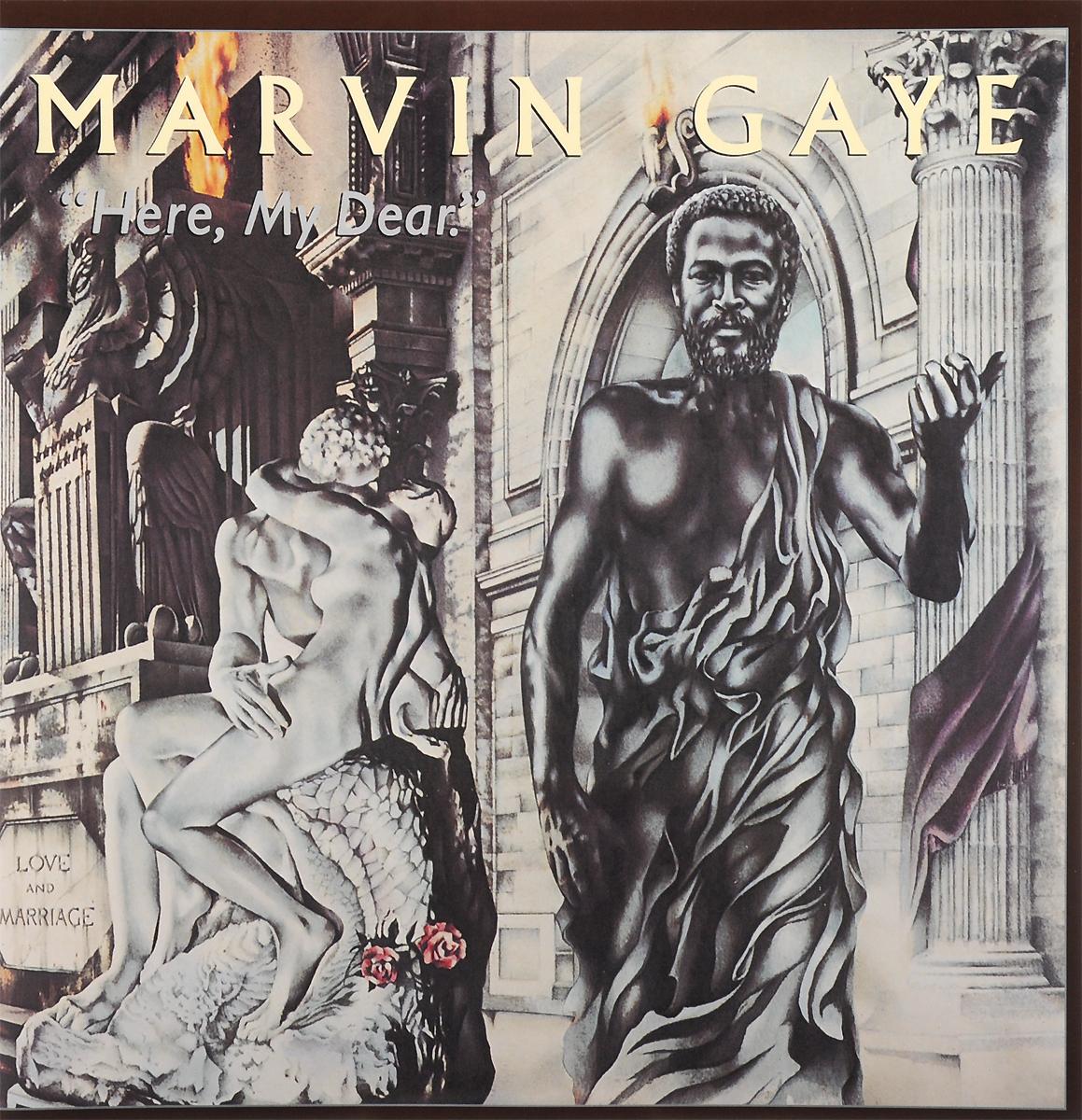 Марвин Гэй Marvin Gaye. Here, My Dear (2 LP) marvin gaye here my dear