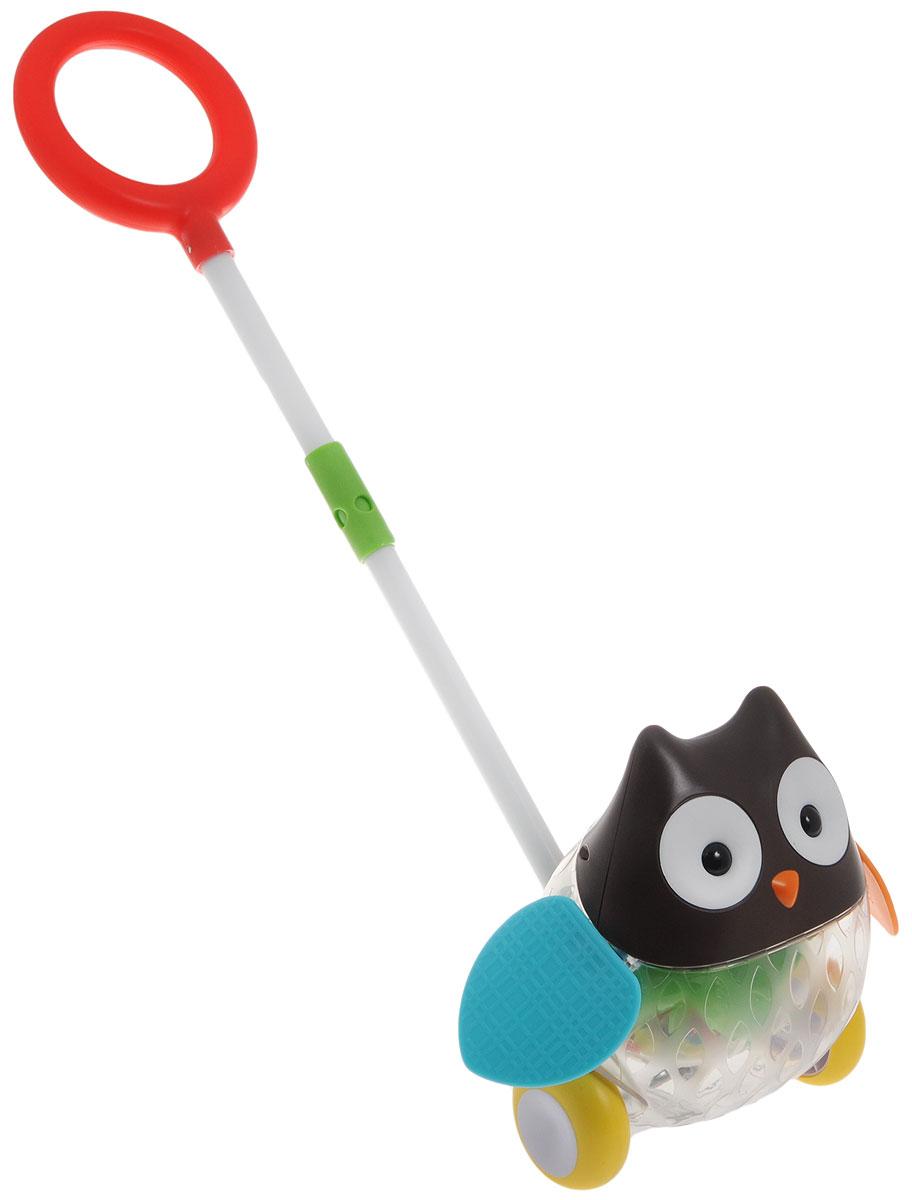 Skip Hop Игрушка-каталка с ручкой Сова игрушки для детей