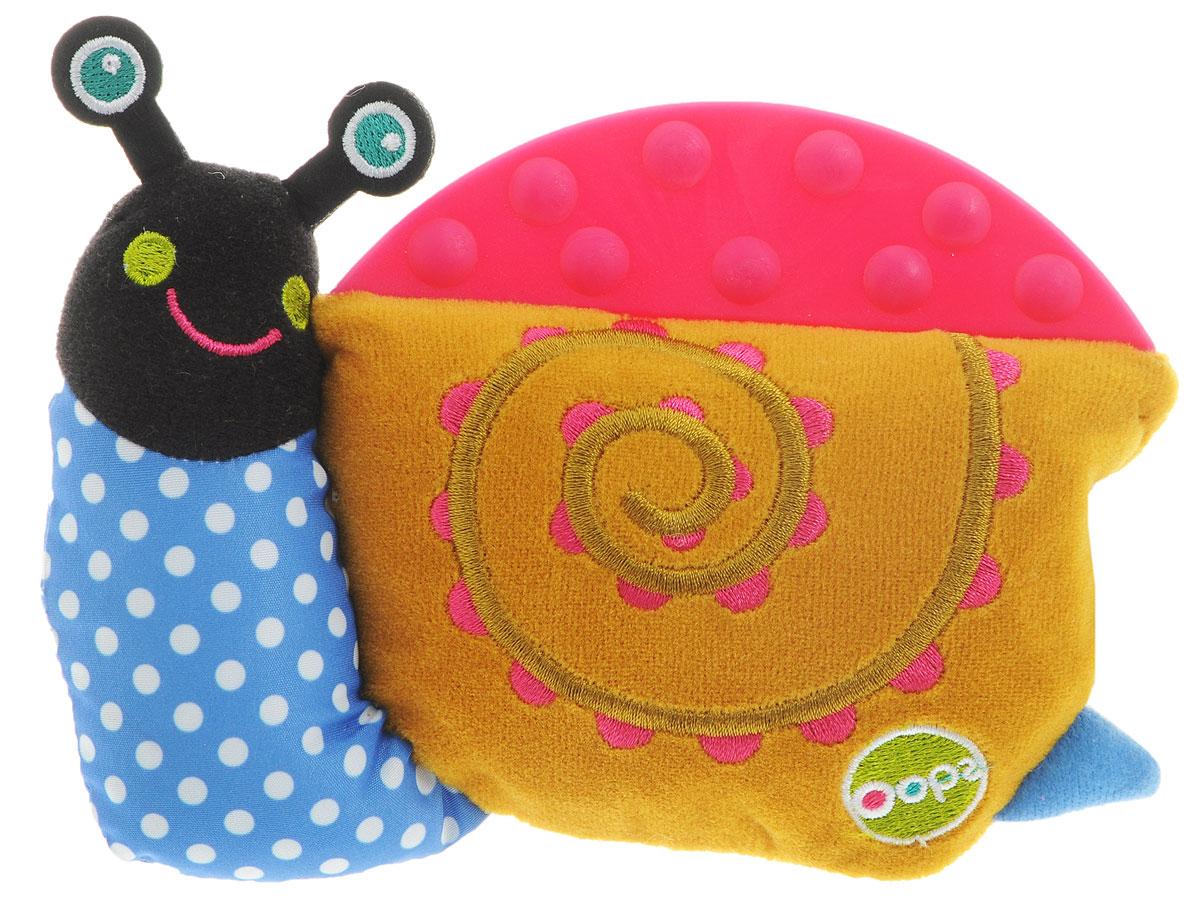 Oops Развивающая игрушка-прорезыватель Улитка Муши мягкие игрушки oops игрушка развивающая черепаха