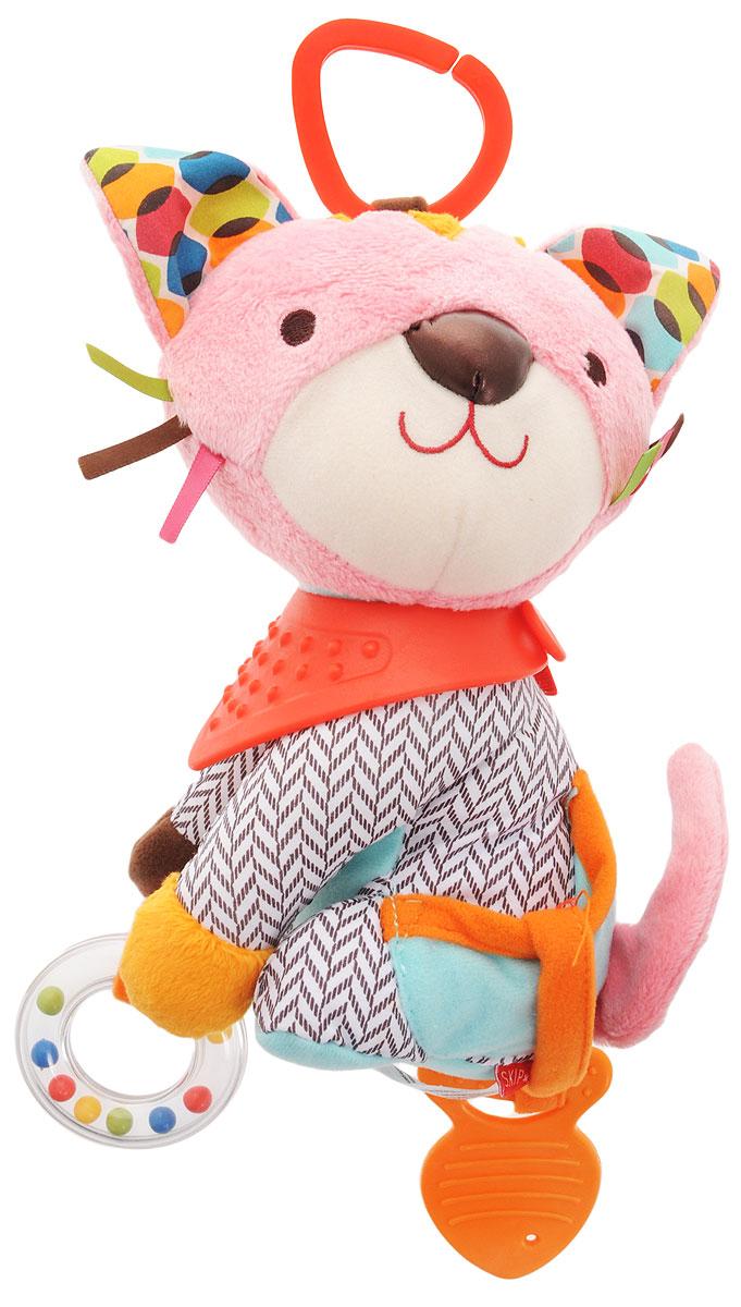 Skip Hop Развивающая игрушка-подвеска Котенок бенгальского котенка в егорьевске