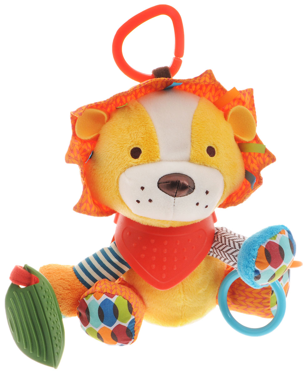 Skip Hop Развивающая игрушка-подвеска Лев уроки льва