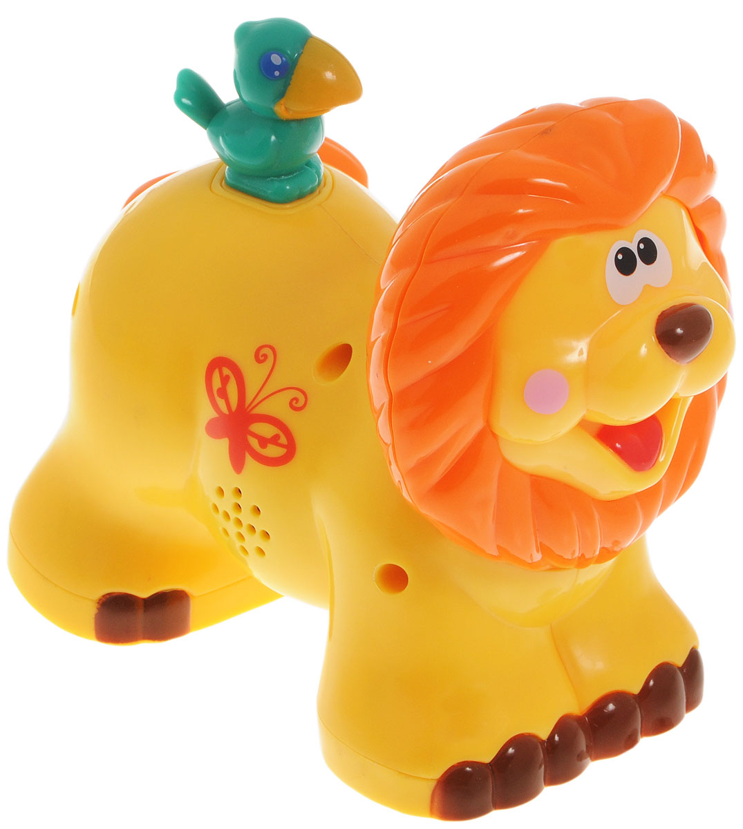 Kiddieland Развивающая игрушка-каталка Лев kiddieland развивающая игрушка каталка слоник