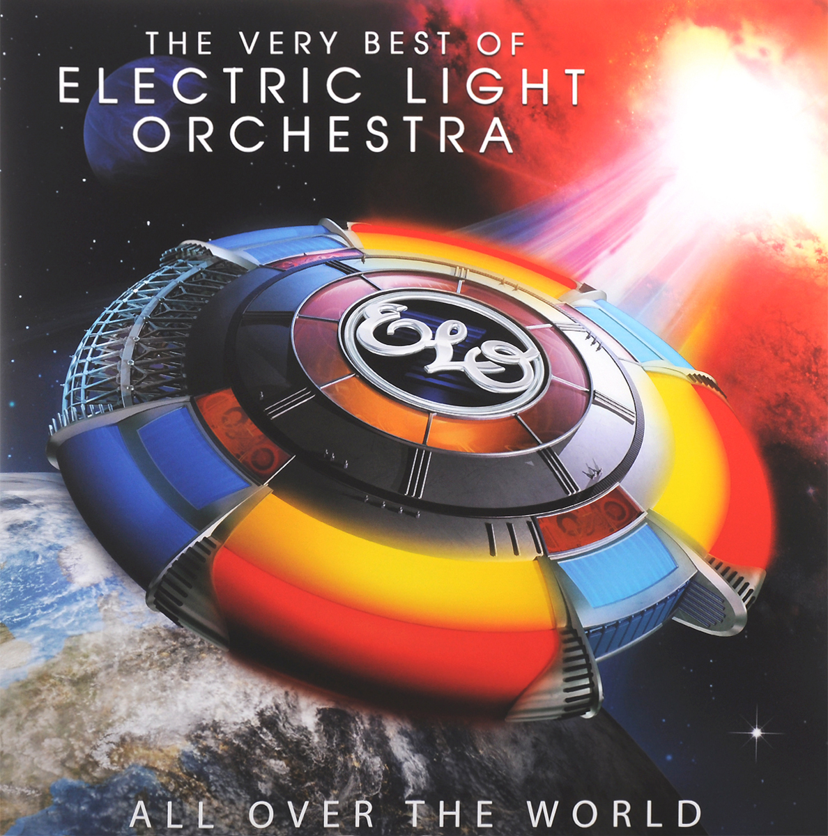 Electric Light Orchestra Electric Light Orchestra. The Very Best Of Electric Light Orchestra. All Over The World (2 LP) женская рубашка girls all over the world 6650 2015