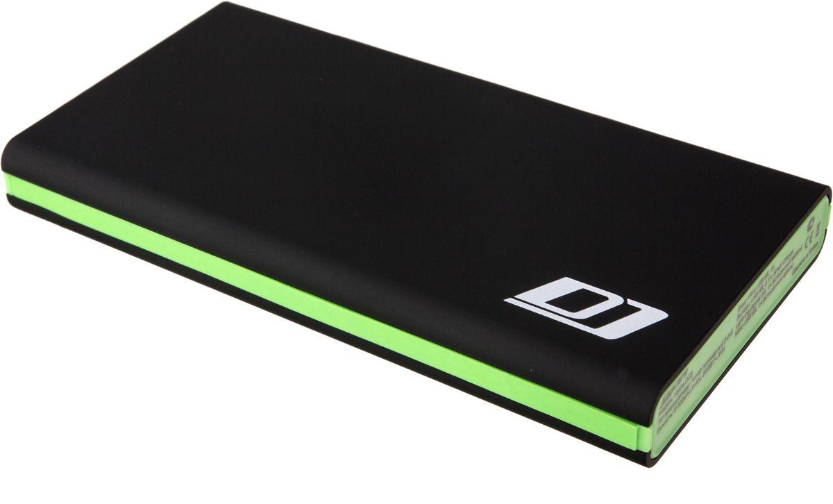 DigiCare Hydra DC8, Black Green внешний аккумулятор (8000 мАч) digicare hydra dl10 black внешний аккумулятор 10000 мач