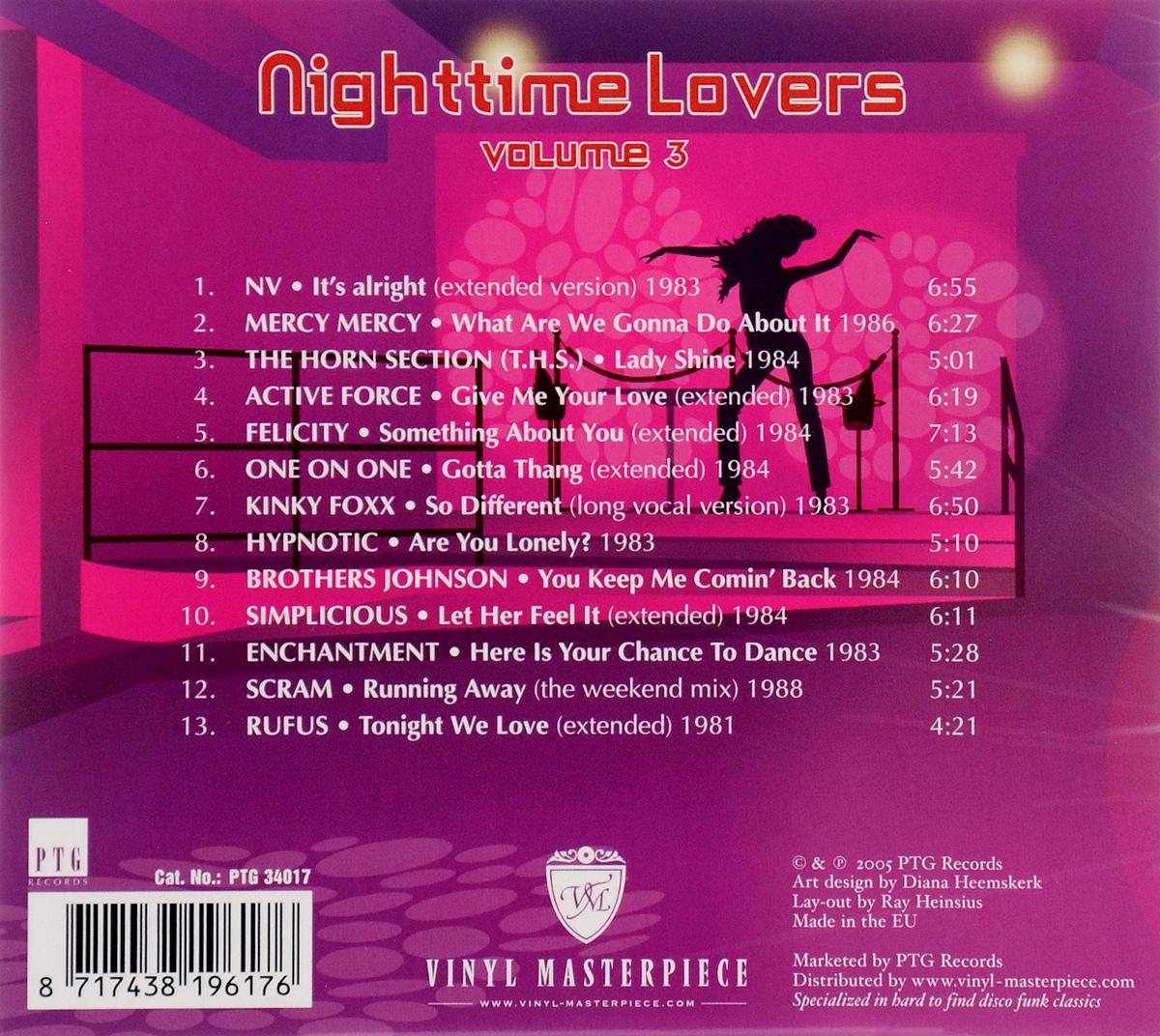 Nighttime Lovers.  Volume 3