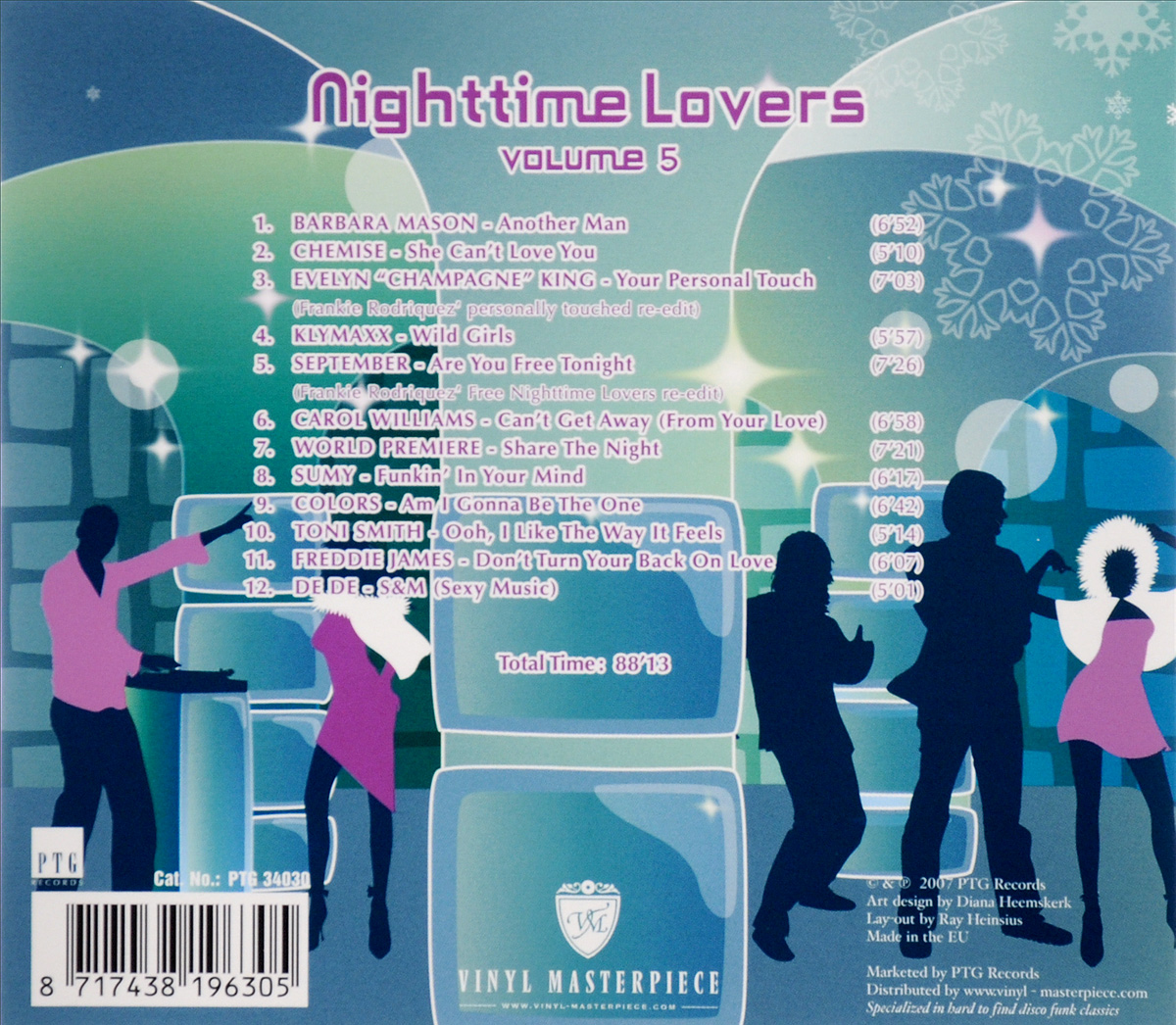 Nighttime Lovers.  Volume 5 Волтэкс-инвест,PTG Records