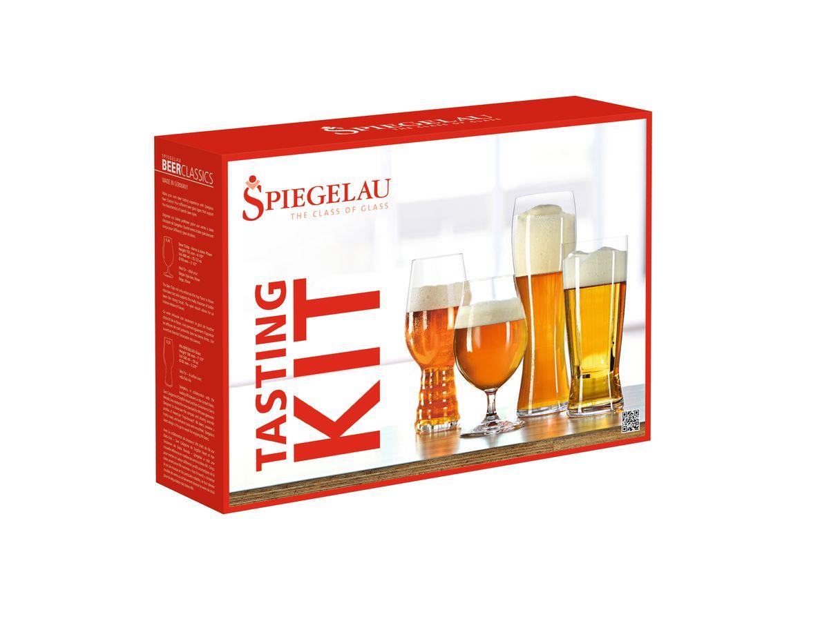 Набор бокалов для дегустации пива Spiegelau, 4 шт4991695Набор Spiegelau Аутентис включает 4 различных бокала для дегустации пива. Бокалы выполнены из специального стекла. В этом стекле содержится платина и присутствует всего лишь 5% оксида свинца, намного меньше, чем в традиционном хрустале - и это благотворно сказывается на вкусе напитка. Бокалы изящные, тонкие, легкие и очень прочные, они выдерживают более тысячи циклов в посудомоечной машине, не боятся легких ударов и падений с небольшой высоты. Их характерный благородный блеск не подвластен времени.Благодаря превосходным характеристикам и высокому статусу ведущие рестораны мира отдают предпочтение немецкой марке Spiegelau (Шпигелау).