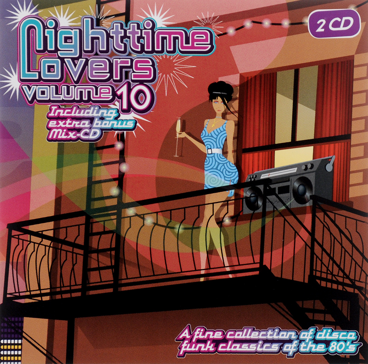 Nighttime Lovers. Volume 10 (2 CD)