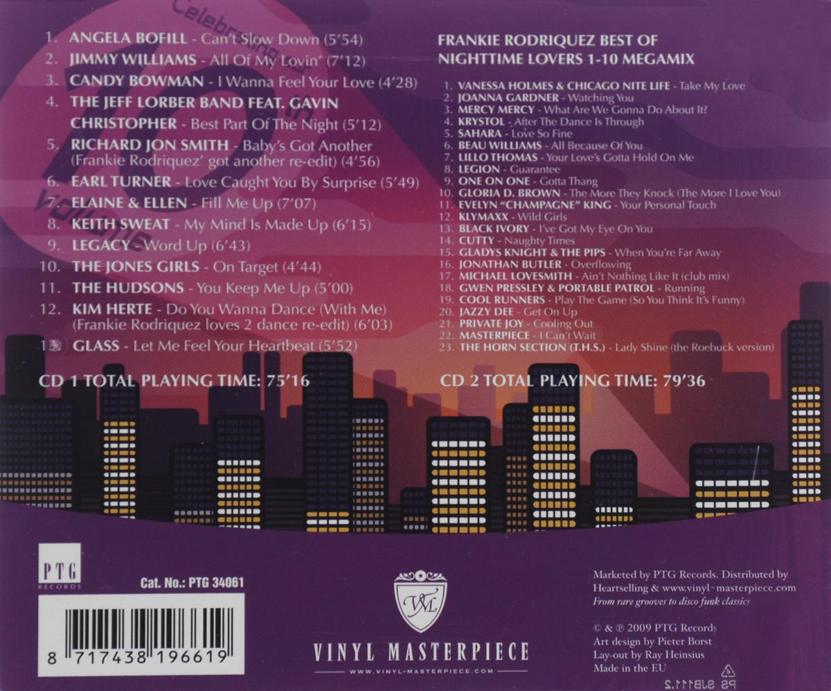 Nighttime Lovers.  Volume 10 (2 CD) PTG Records,Волтэкс-инвест