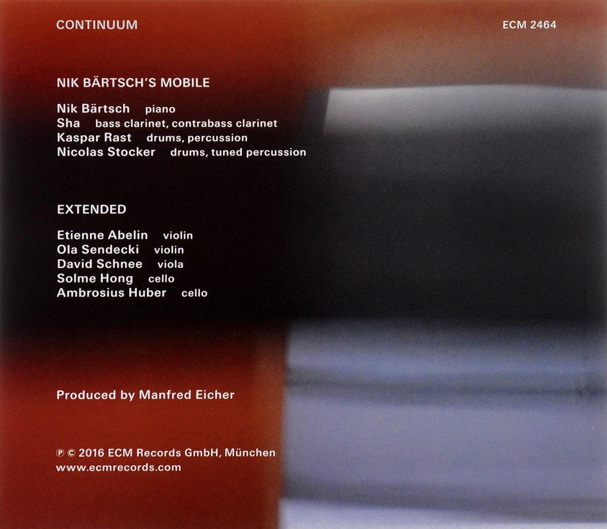 Nik Bartsch's Mobile.  Continuum