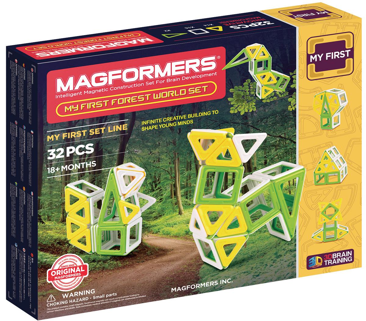 Magformers Магнитный конструктор My First Forest World Set magformers my first magformers 30
