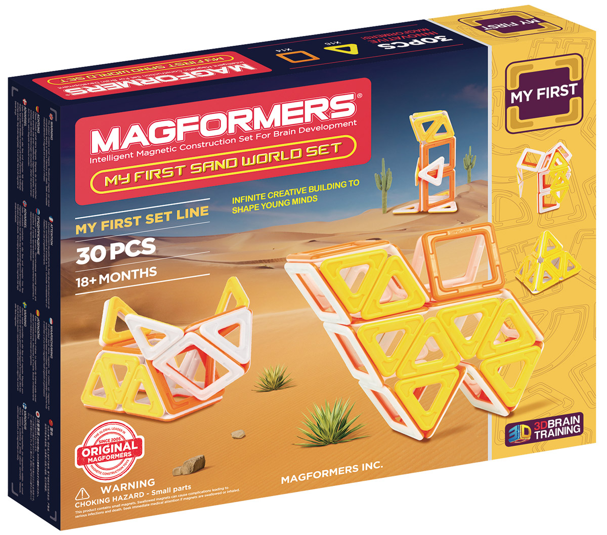 Magformers Магнитный конструктор My First Sand World Set magformers my first magformers 30