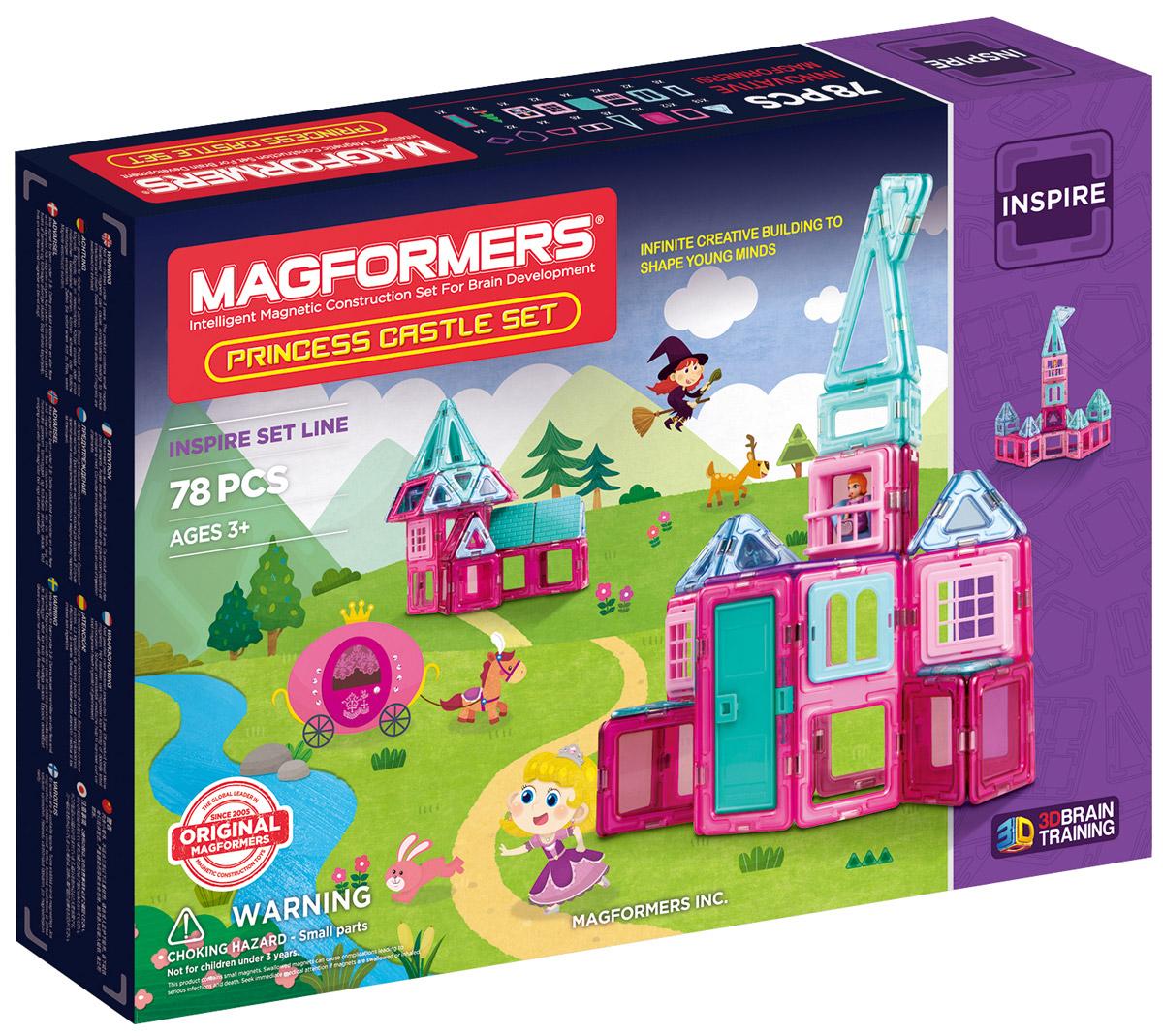 Magformers Магнитный конструктор Princess Castle Set ручки оконные с замком в москве