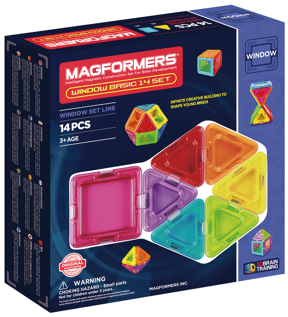 Magformers Магнитный конструктор Window Basic 14 Set magformers window basic 14 set 714001