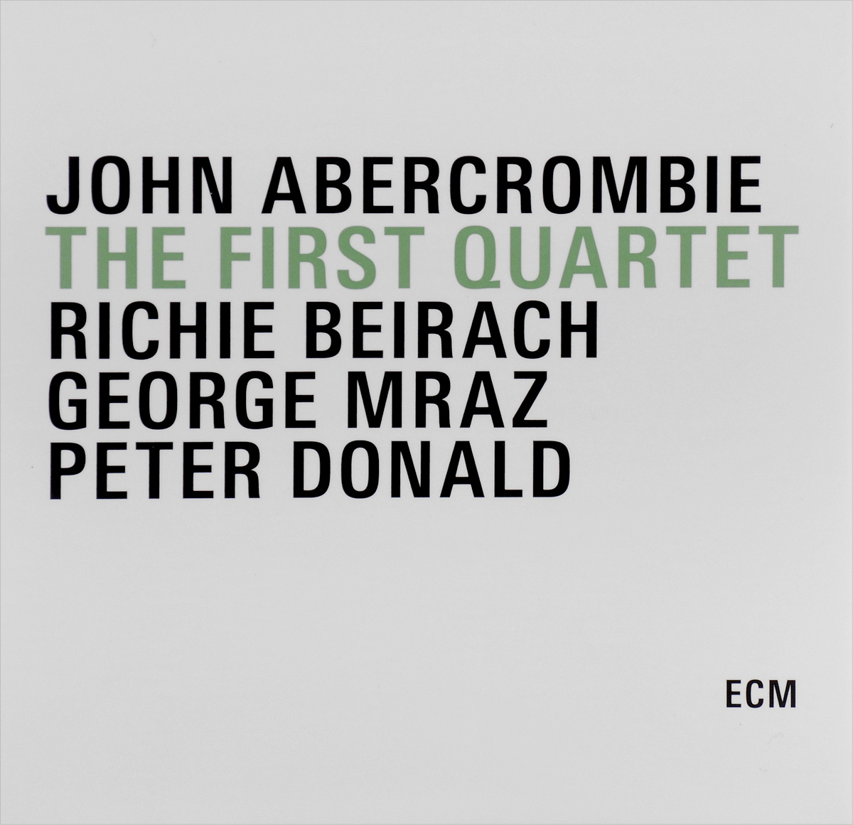 John Abercrombie. The First Quartet (3 CD)