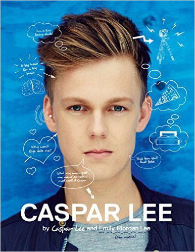 Caspar Lee my first book about food