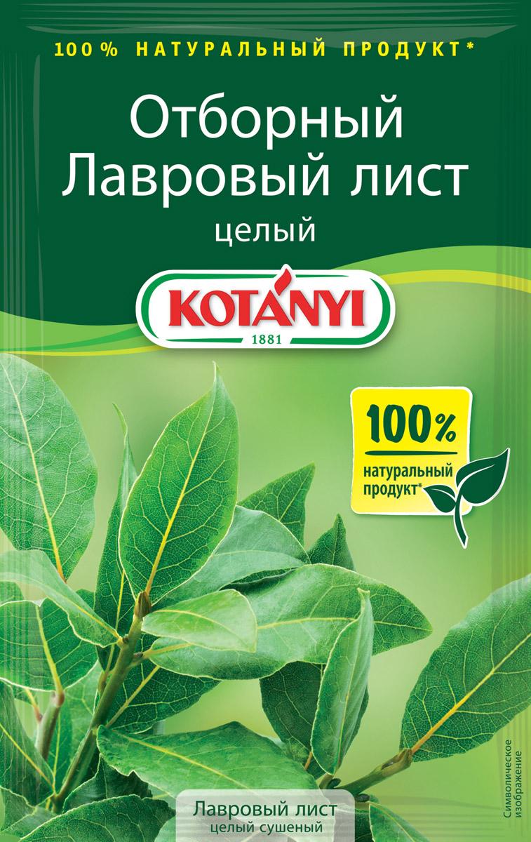 Kotanyi Лавровый лист целый сушеный, 5 г87711Лавровый лист Kotanyi отбирается вручную, бережно высушивается и упаковывается, сохраняя тонкий аромат и пряный вкус. Для приготовления пищи используются высушенные лавровые листья, так как они более ароматны.Лавровый лист придает утонченный аромат супам, бульонам, мясу, овощным и рыбным блюдам, маринадам. При приготовлении запечённых или жареных блюд разложите лавровый лист на сковороде – это придаст им пряный запах и вкус.Страна происхождения: Турция.Внимание! Может содержать следы глютеносодержащих злаков, яиц, сои, сельдерея, кунжута, орехов, молока (лактозы), горчицы.
