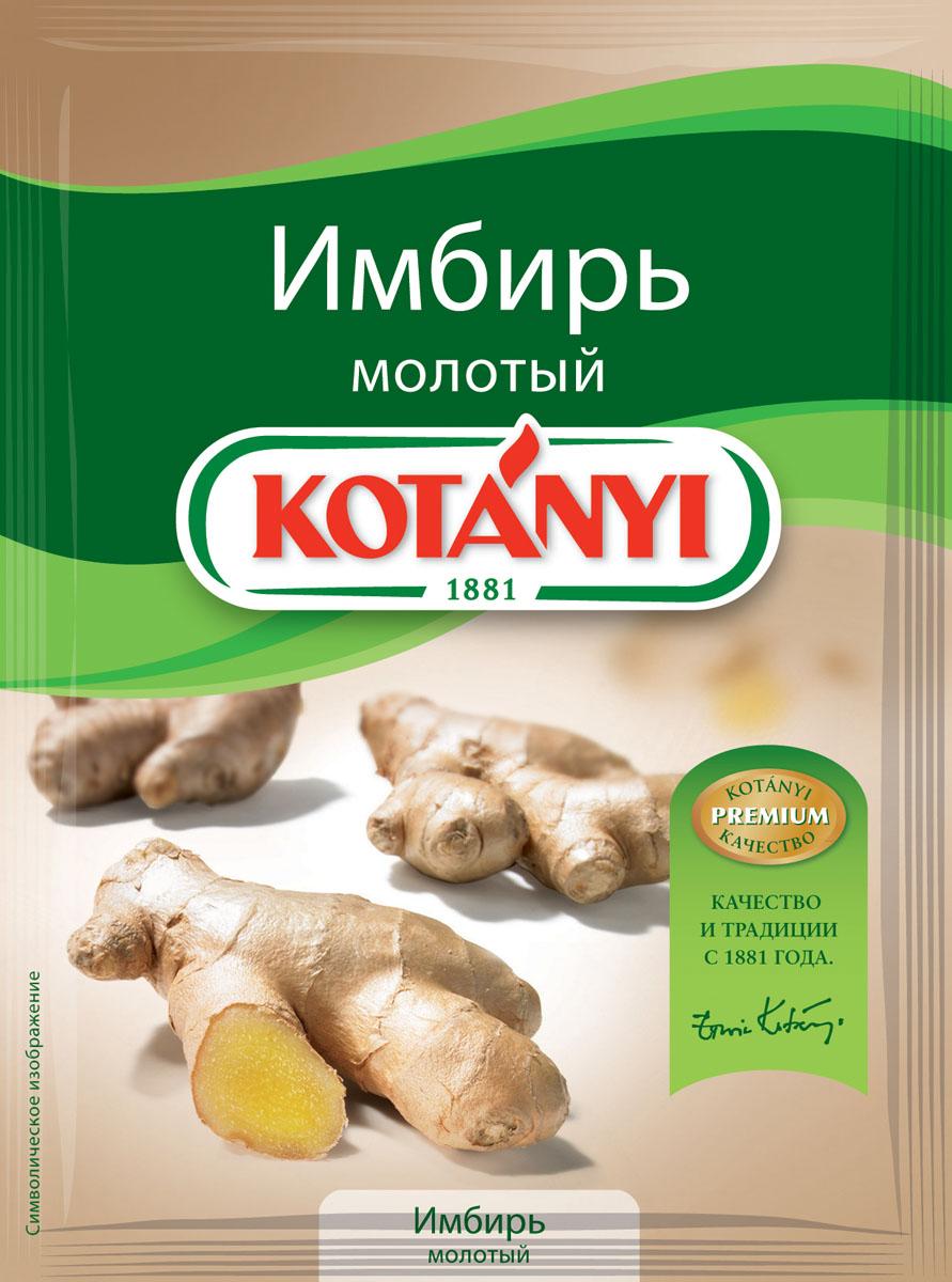 Kotanyi Имбирь молотый, 15 г имбирь сушеный молотый золото индии 50 г