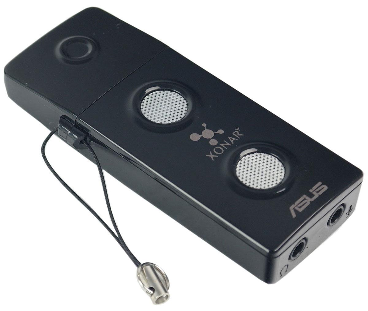 ASUS Xonar U3 звуковая картаXONAR U3Портативная звуковая карта Xonar U3 поможет улучшить звук вашего ноутбука при прослушивании музыки, просмотре фильмов, в играх и при использовании IP-телефонии.Усилитель наушников:Улучшенное качество звука при использовании наушников. Настраиваемый усилитель поможет максимально раскрыть потенциал Ваших наушников.Dolby Home Theater:Качественное пространственное звучание. Xonar U3 представляет собой портативную звуковую карту с интерфейсом USB, которая поддерживает технологии Dolby, направленные на повышение качества звука.GX2.5:Реалистичные звуковые эффекты. Аудиопроцессор с возможностью применения до 128 различных звуковых эффектов одновременно обеспечивает реалистичное пространственное звучание.Звук класса Hi-Fi:Благодаря эксклюзивной технологии Hyper Grounding обеспечивается отделение аудиосигнала от источников шума.