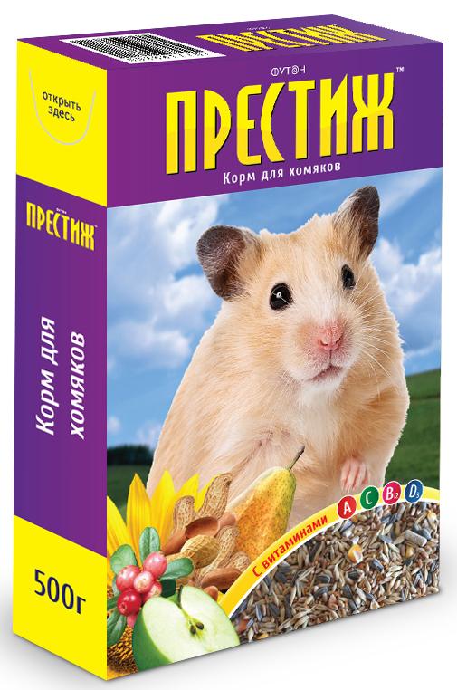"""Корм для хомяков """"Престиж"""", с витаминами, 500 г"""