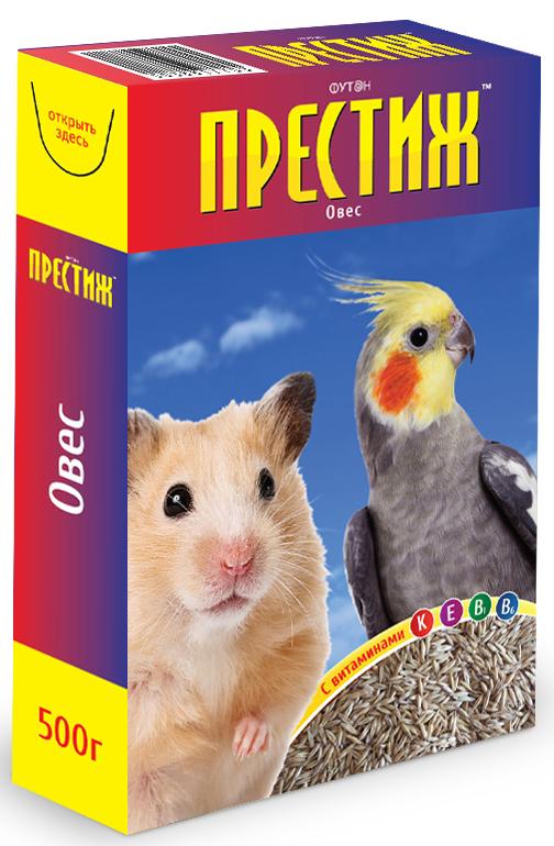 Добавка к корму для птиц и грызунов Престиж Овес, с витаминами, 400 г4627092860099Овес компании Престиж является высокоочищенной кормовой добавкой. Содержит все необходимые витамины и микроэлементы. Овес нормализует обменные процессы, предупреждает развитие гиповитаминозов, повышает стрессоустойчивость. Овес можно использовать как зерновой, так и пророщенный. Пророщенный овес любят попугаи и декоративные грызуны.Рекомендация по кормлению: 2 - 4 столовых ложки смеси в день в зависимости от размеров животного.Способ проращивания: на смоченную водой ватку выкладывают слой семян, которые поливают по мере высыхания ваты.Состав: очищенный овес.
