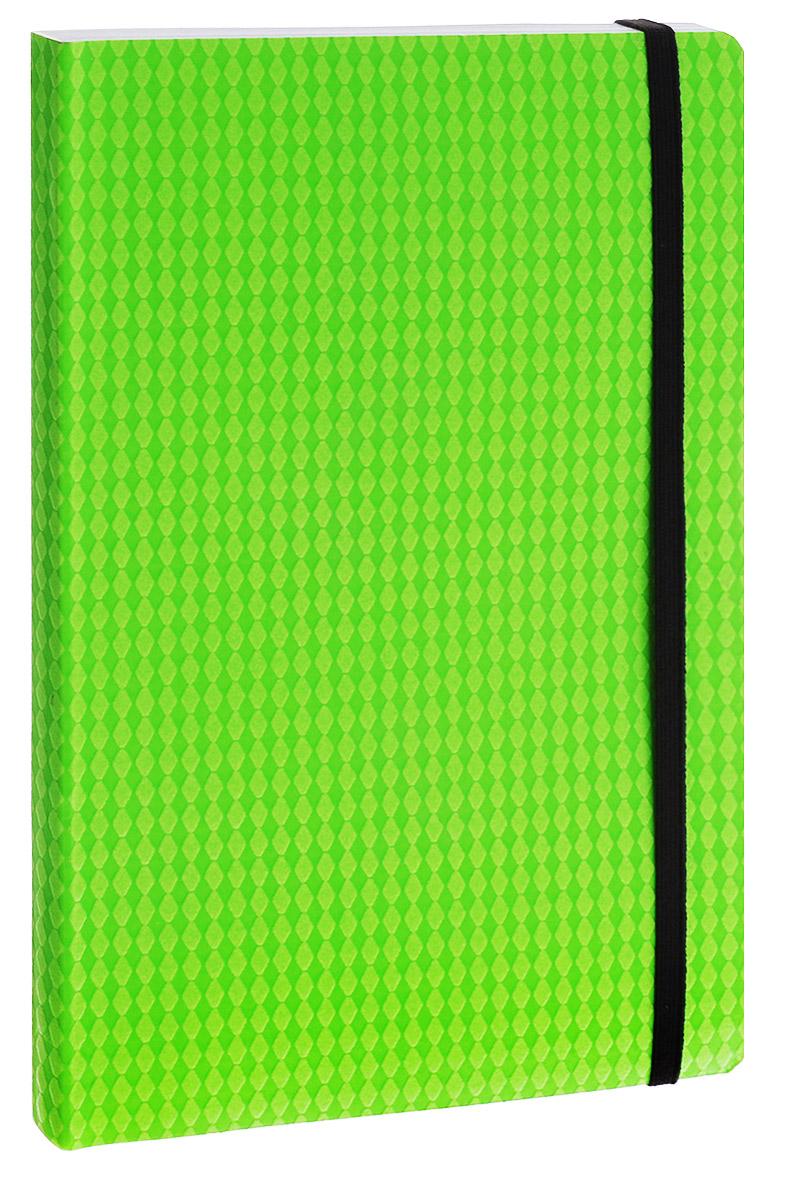 Erich Krause Тетрадь Study Up 120 листов в клетку цвет зеленый формат B539501Тетрадь Erich Krause Study Up подойдет как школьнику, так и студенту.Внутренний блок состоит из 120 склеенных листов формата B5. Стандартная линовка в серую клетку без полей. Гибкая плотная обложка с закругленными уголками надежно защитит от влаги и поможет сохранить аккуратный внешний вид тетради. Фиксирующая резинка обеспечит сохранность тетрадки. Тетрадь Erich Krause Study Up займет достойное место среди ваших канцелярских принадлежностей.