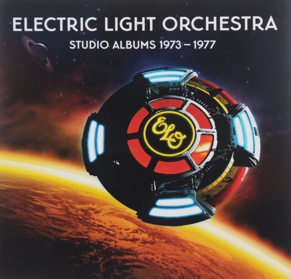 Electric Light Orchestra Electric Light Orchestra. Studio Albums 1973-1977 (5 CD) roxy music roxy music the studio albums limited edition 8 lp