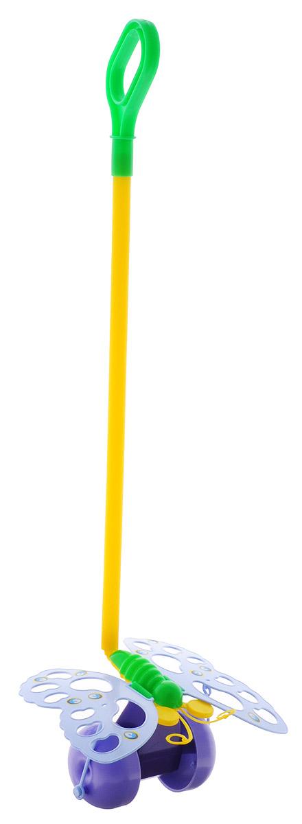 Спектр Игрушка-каталка Бабочка цвет сиреневый купить щетку для тела с длинной ручкой