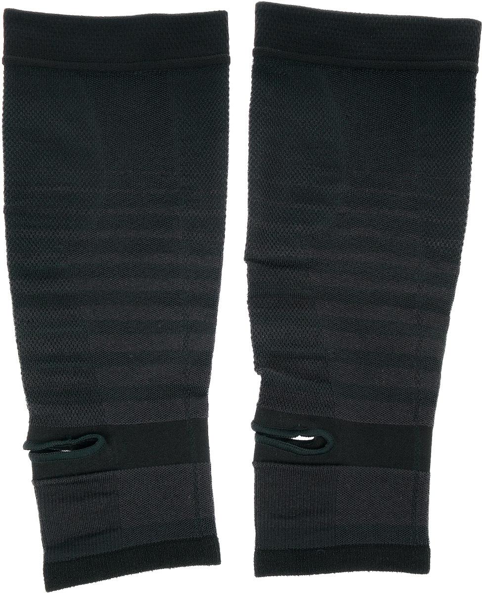 """Гетры """"Phiten"""", цвет: черный. Размер L/XL (34-44 см)"""