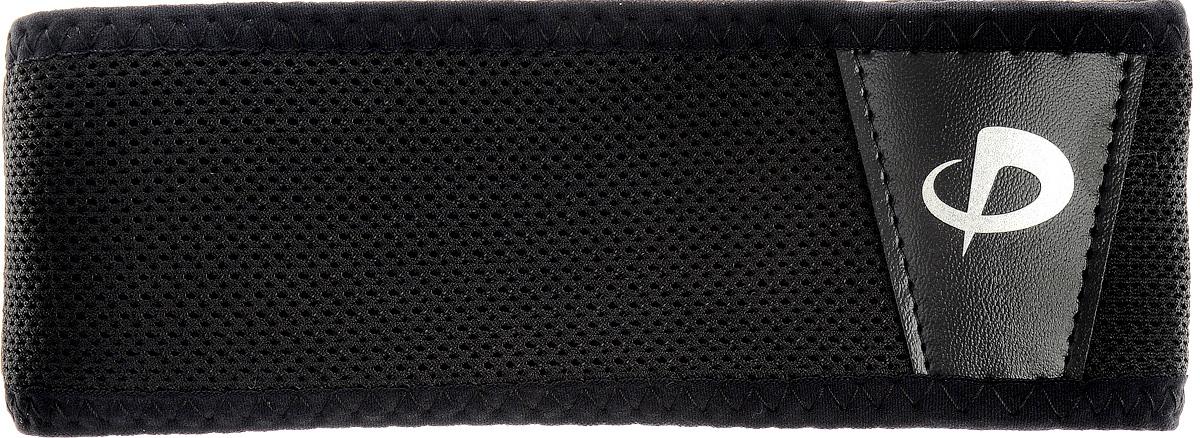 Суппорт спины Phiten Aquatitan Belt Single, цвет: черный, 75 х 5,5 см