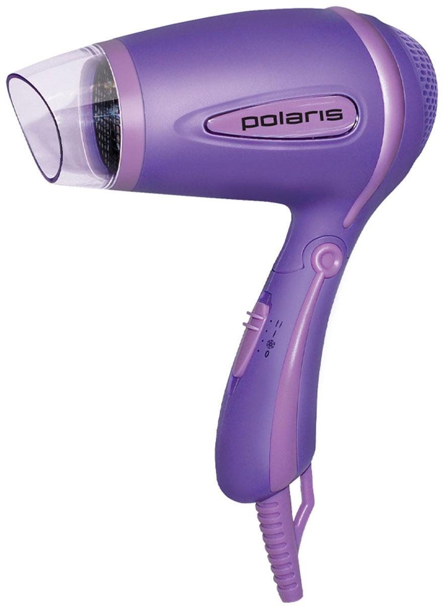 Polaris PHD 1241TR, Purple фенPHD 1241TRКрасивый и эргономичный фен Polaris PHD 1241TR стильного лилового цвета станет вашим помощником и любимцем с первого его использования. Возможность переключения скорости (2 ступени) и средняя мощность, эргономичный корпус, складная ручка и петля для подвешивания фена в удобном для вас месте, а также съемная насадка - концентратор делают его незаменимым. Отличительная особенность – режим холодного воздуха, позволяющий закрепить форму уложенных волос, а также защита от перегрева устройства.
