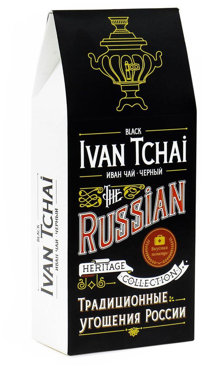 Вкусная помощь Иван-чай черный листовой чай, 70 г greenfield чай greenfield классик брекфаст листовой черный 100г