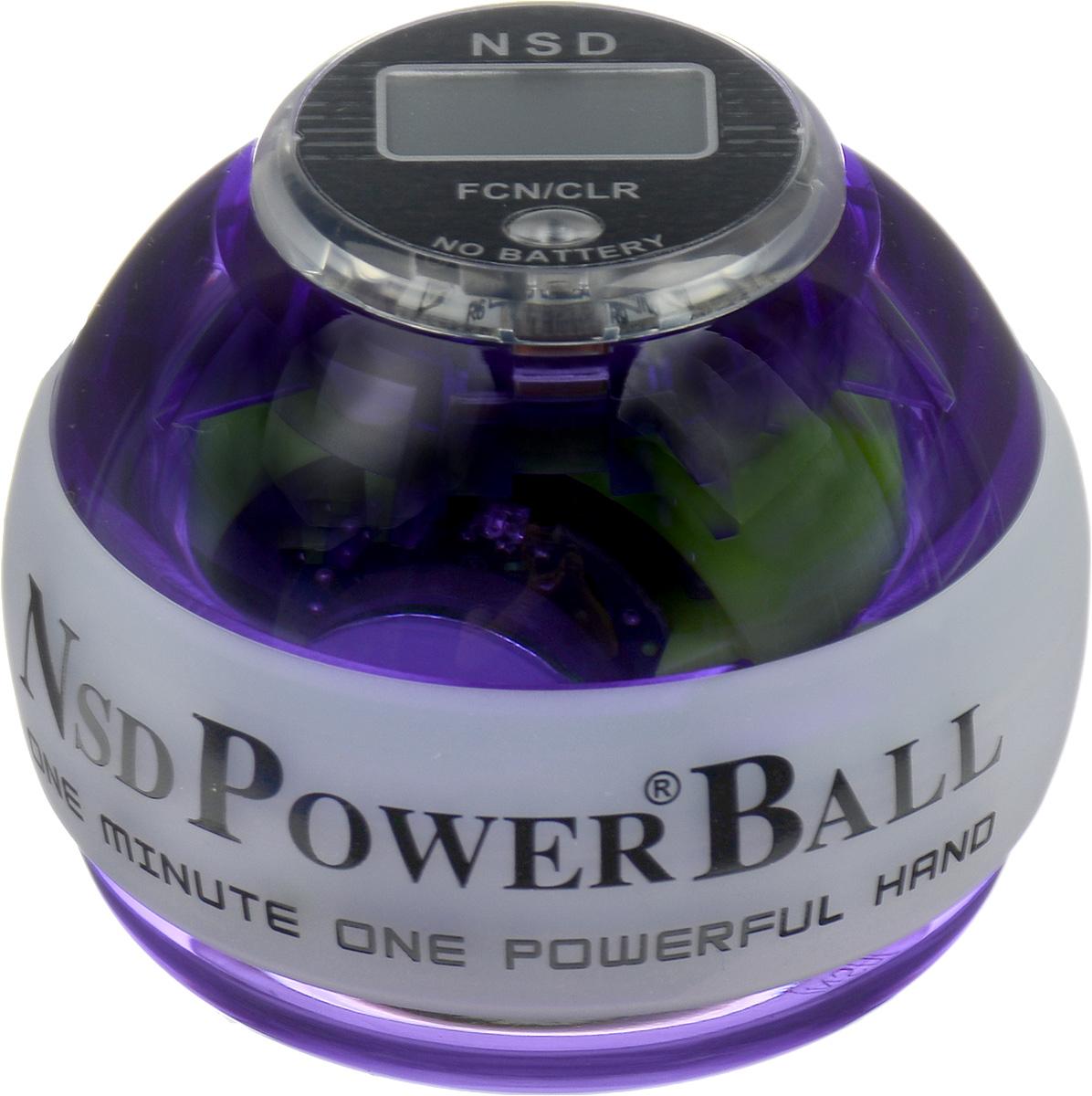 Тренажер Кистевой NSD Power Powerball Multi Light ProPB-688 MLCNSD Power Powerball Multi Light Pro - новая, улучшенная модель совстроенным счетчиком и яркой подсветкой хамелеон. Шар имеетсветодиоды, которые горят за счет встроенной динамо-машины.При изменении скорости вращения тренажер светится тремяразными цветами. Модель прослужит вам гораздо дольше. Добитьсяэтого удалось за счет материала с большей прочностью, иприменения технологии, служащей для амортизации удара ипоглощению его силы в случае падении тренажера. Кроме того,тренажер снабжен системой сменных колец, при помощи которыхего можно быстро и без труда отремонтировать. Еще одним плюсомданной модели является счетчик, работающий без батареек. В комплект входят инструкция и два шнурка для раскрутки.Тренажер подходит как для развлечения, так и для постоянныхтренировок или в виде разминки для полноценной спортивнойтренировки. Размер тренажера: 6 х 7,5 см.